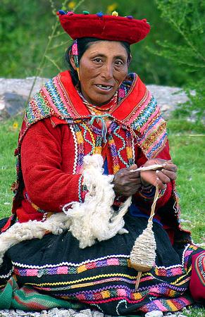 Zenfolio David Lyons People Inca Weaver Peru